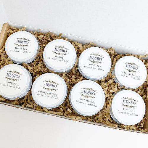 GIFT SET: Candle Sample 8-Pack