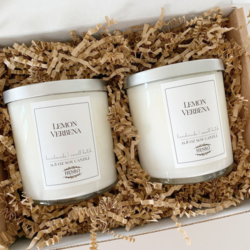 GIFT SET: Tumbler Candle 2 Pack