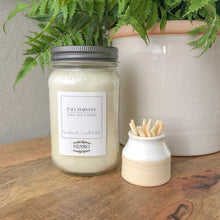 GIFT SET: Premium Natural Soy Mason Jar Candle & Match Striker