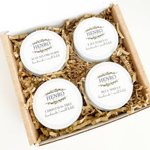 Fall & Winter GIFT SET: Candle Sample 4-Pack