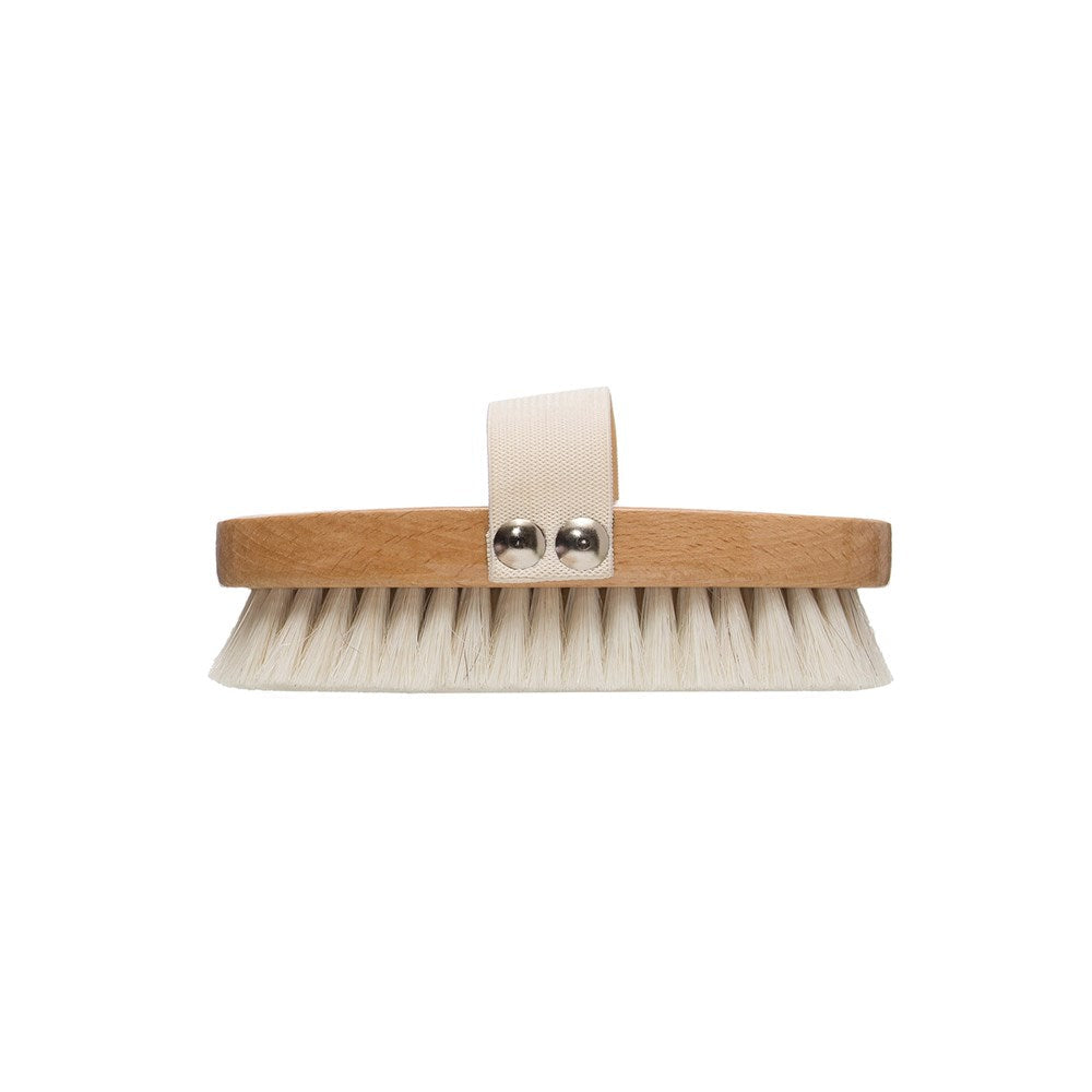 Beechwood Bath Brush w/ Band