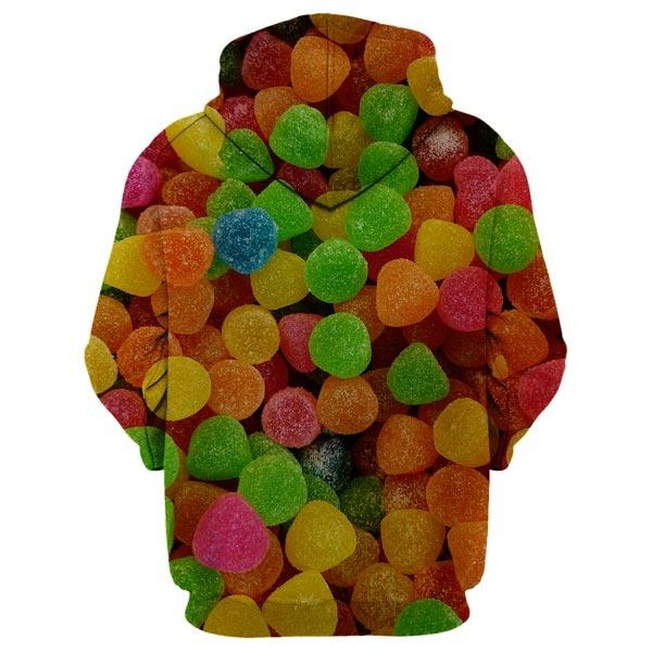 All Over Sour Candies Hoodie