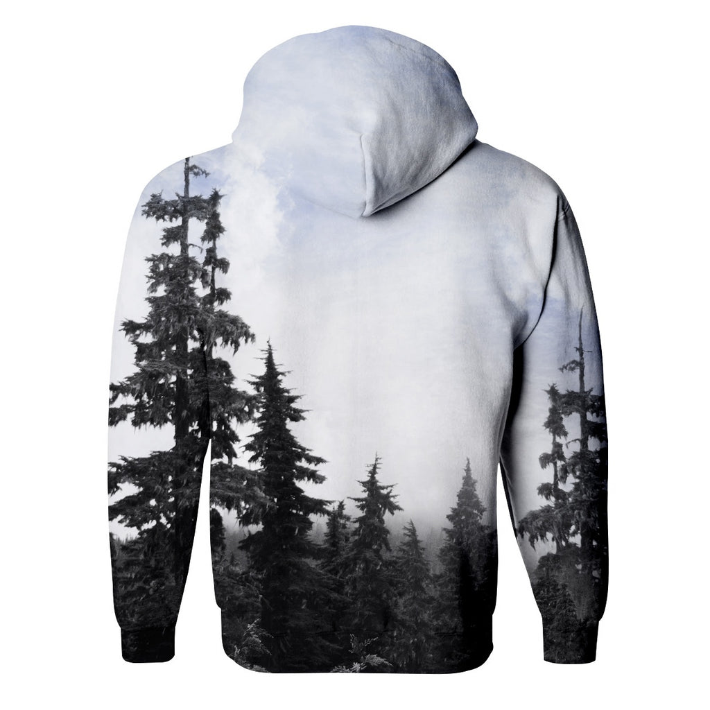 In The Forest Zip Up Hoodie