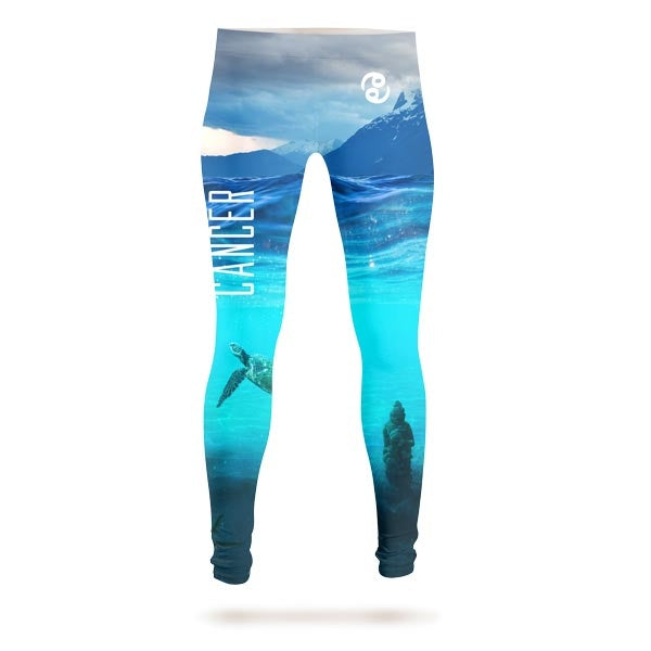 Crab In The Sea Leggings
