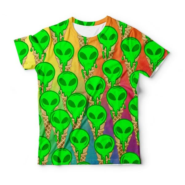 Ufo Ice Cream T-Shirt