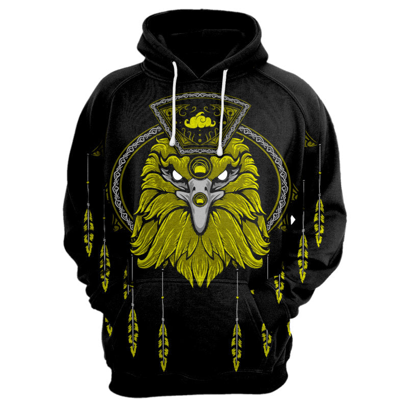 Eagle Dream Catcher Hoodie