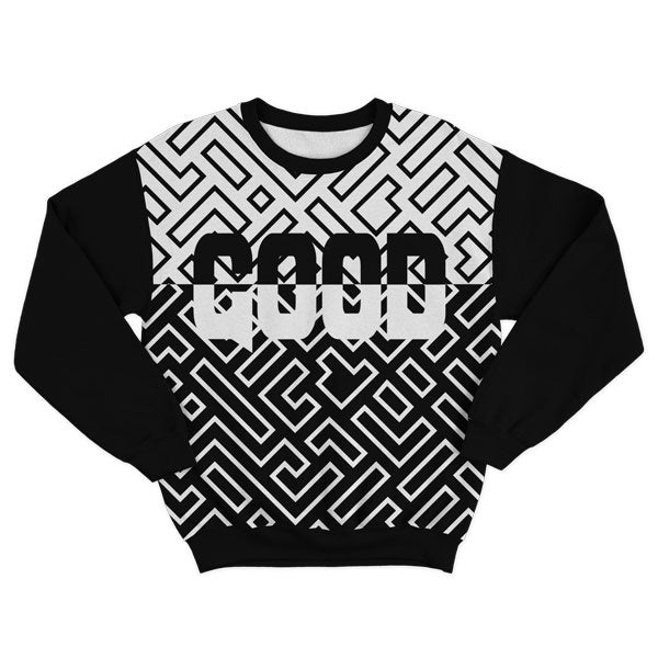 Gridded Sweatshirt