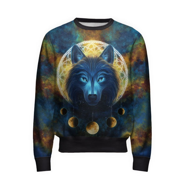 Moon Wolf Sweatshirt