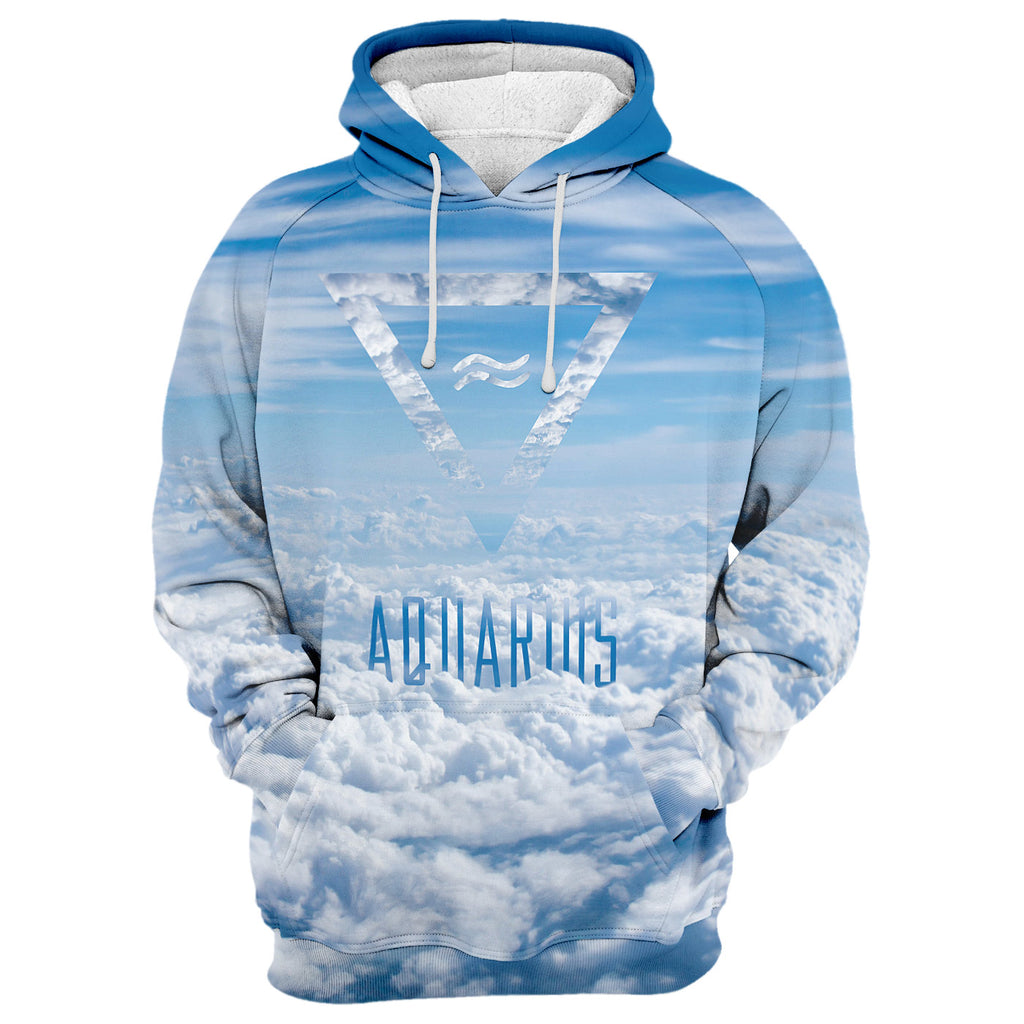 Aquarius In The Sky Hoodie