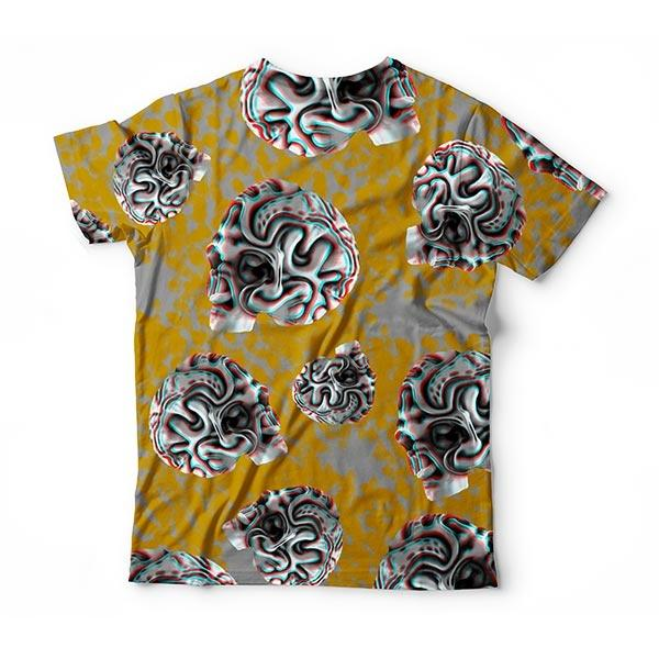 Distorted Skull T-Shirt
