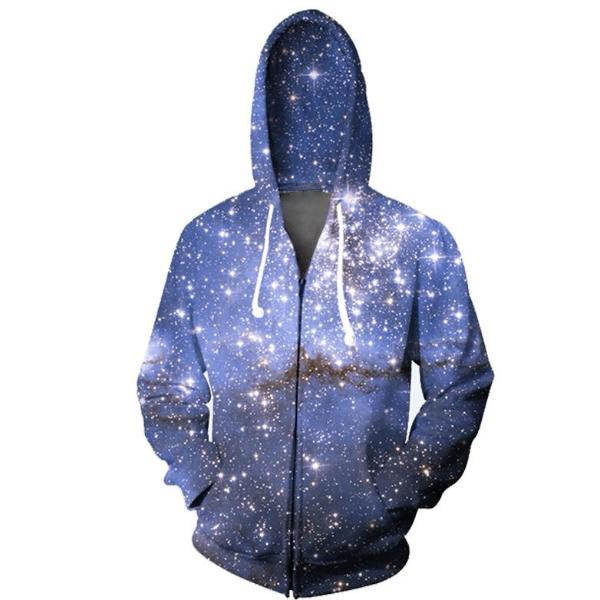 Galaxy Zip-Up Hoodie