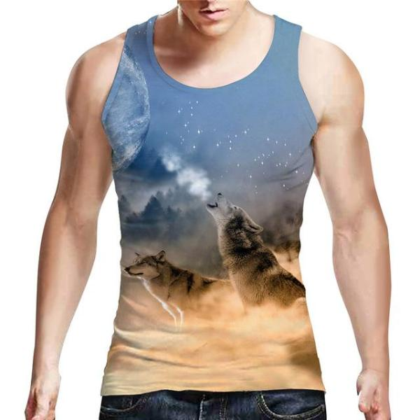 Angry Wolves Tank Top