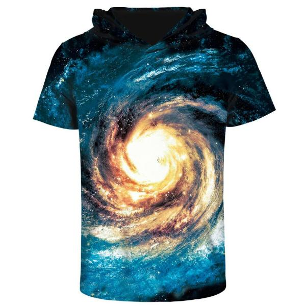 Whitehole Hooded T-Shirt