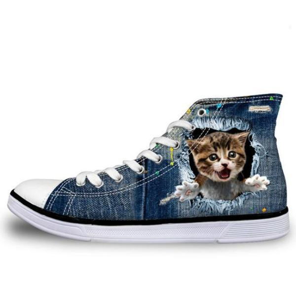 Crazy Cat Sneakers
