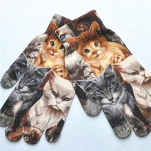 Cute Cats Gloves