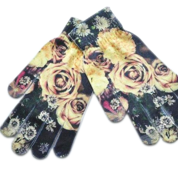 Flowers Gloves