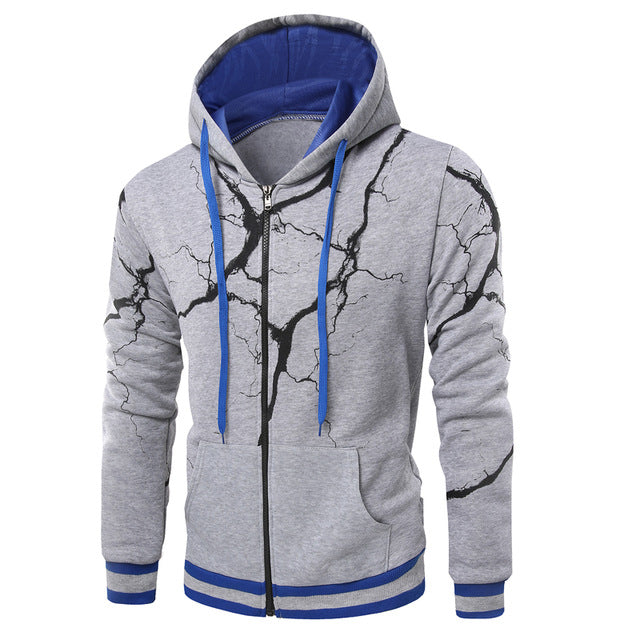 Lightning Zip-Up Hoodie