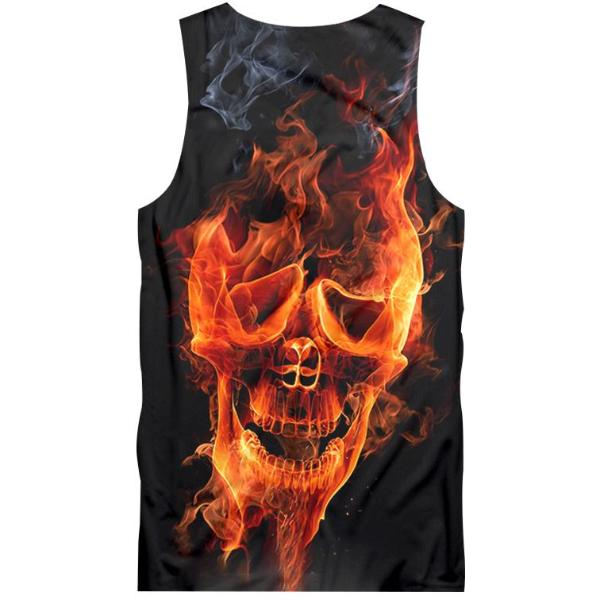 Witty Skull Tank Top