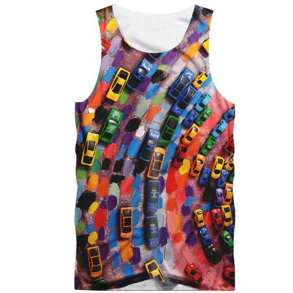 Colorful Cars Tank Top