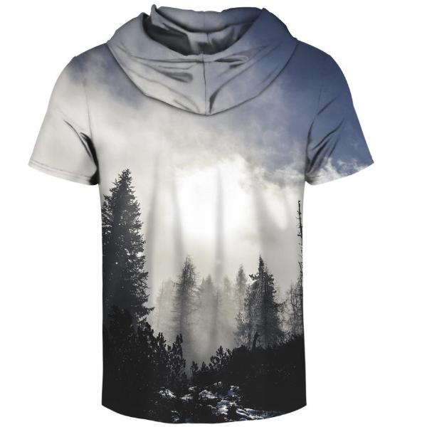 Morning Hooded T-Shirt