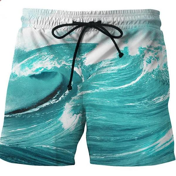 Crystal Waves Shorts