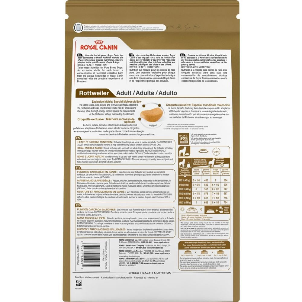 Royal Canin Rottweiler Adult dry dog food