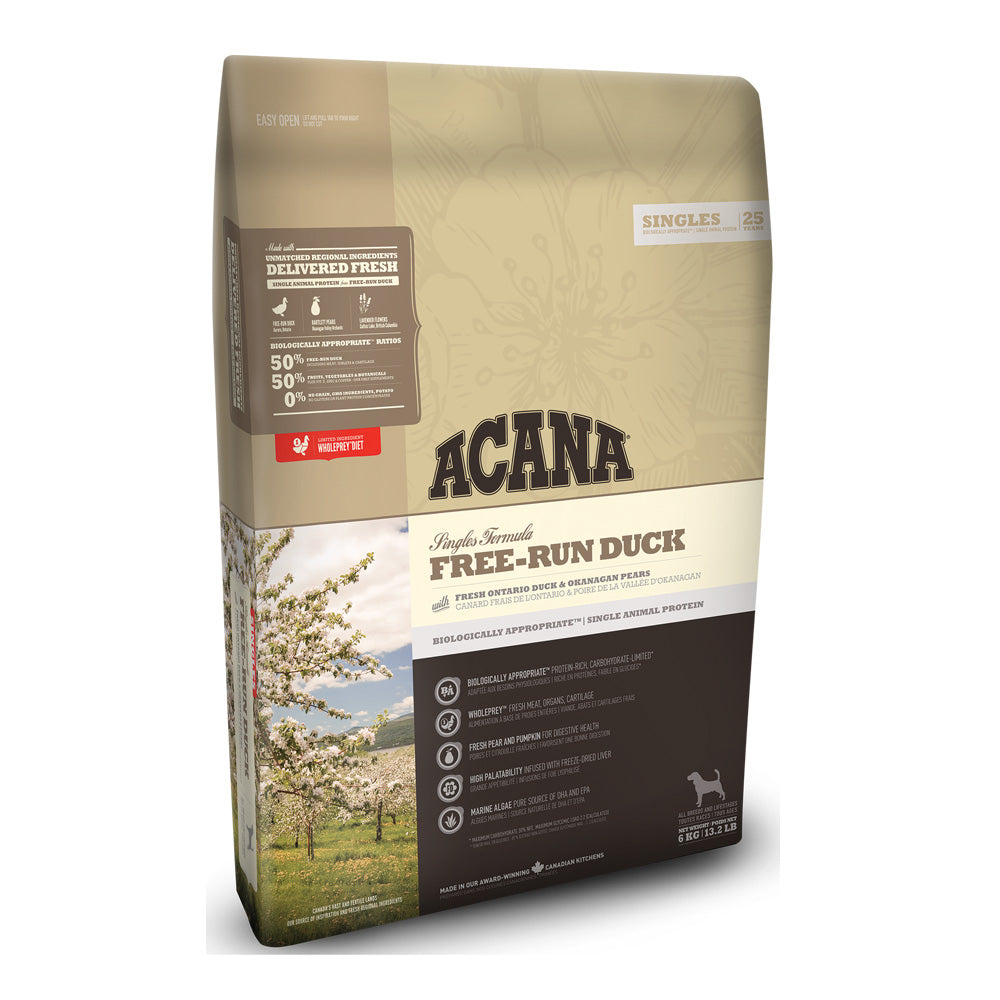 Acana Free-Run Duck Dry Dog Food
