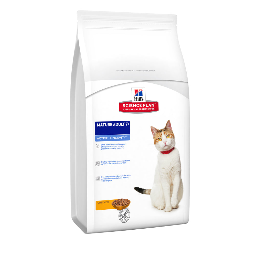 Hill's™ Science Plan™ Active Longevity Mature Adult with Chicken Cat Food
