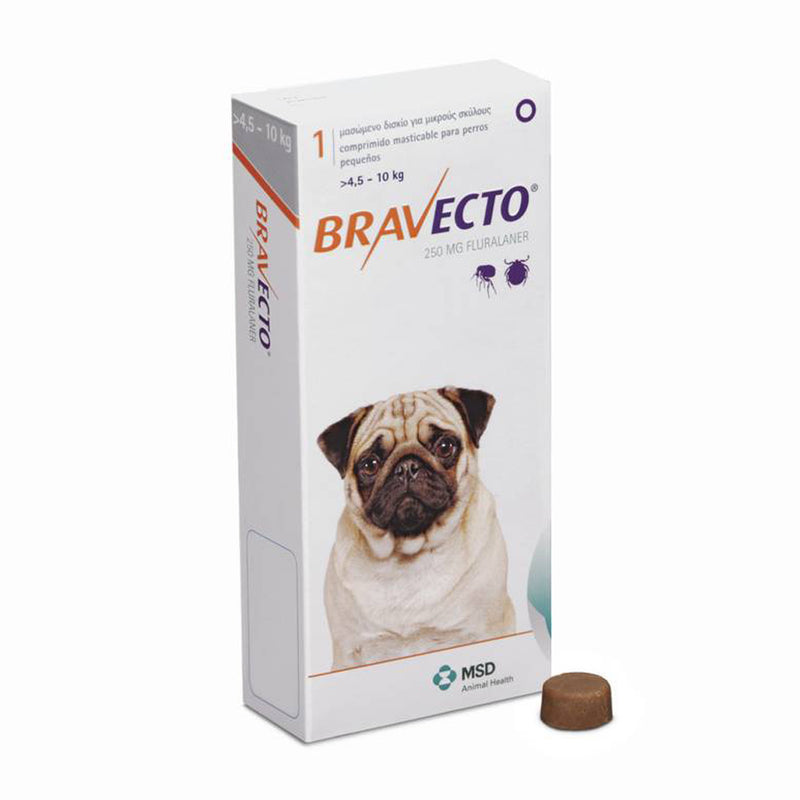 Bravecto Tick And Flea Control 4.5kg - 10kg