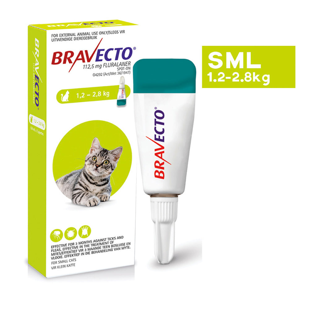 Bravecto Spot-On Tick And Flea Control for Cats