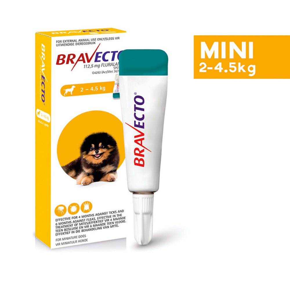 Bravecto Spot-On Tick And Flea Control for Dogs