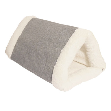 Rosewood Snuggle Plush 2 in 1 Cat Comfort Den