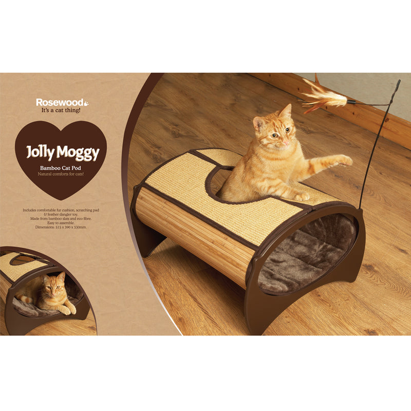 Rosewood Catwalk Collection Bamboo Cat Pod