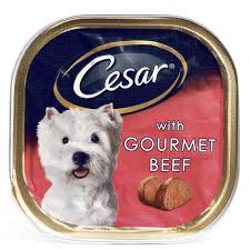 Cesar Gourmet Wet Dog Food Treats 24 pack