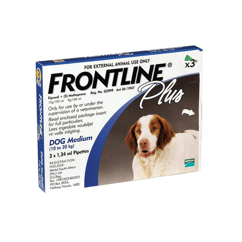 Frontline Plus Medium Dogs