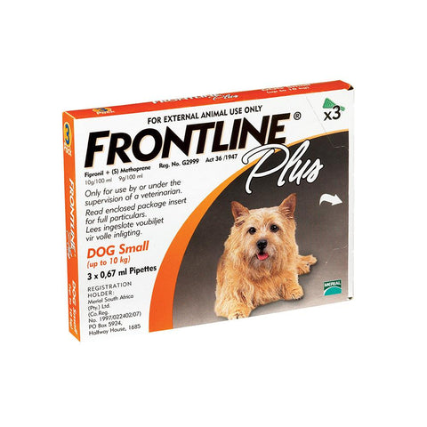 Frontline Plus Small Dogs