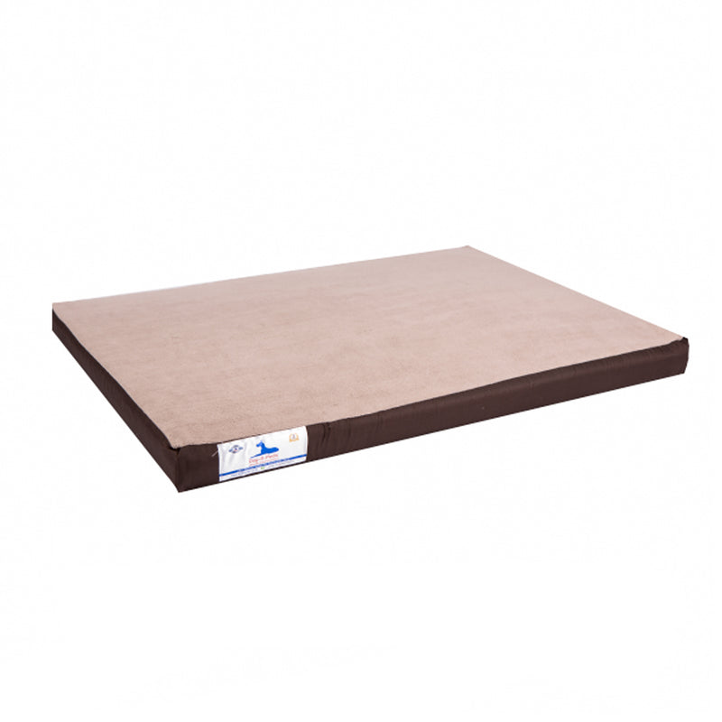 Dog-O-Pedic Orthopeadic Memory Foam Mattress  Brown