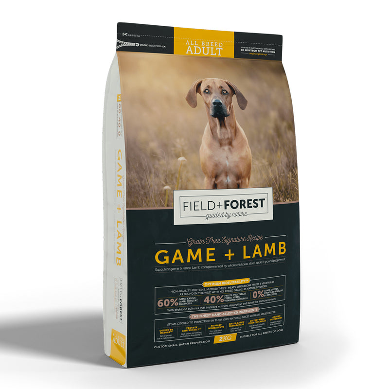 Field + Forest Game + Lamb Adult Dog Food