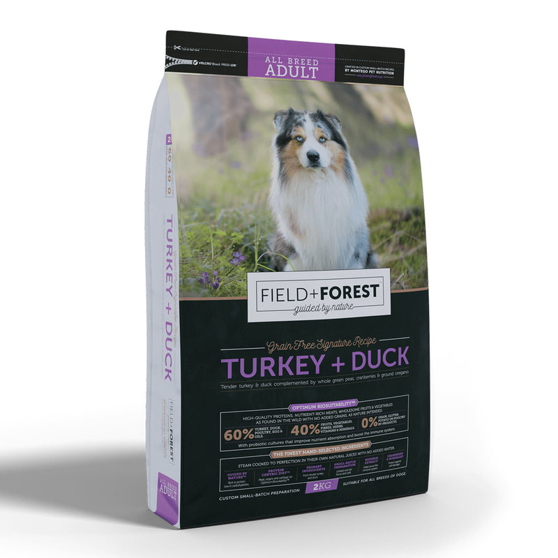 Field + Forest Turkey & Duck Adult Dog Food