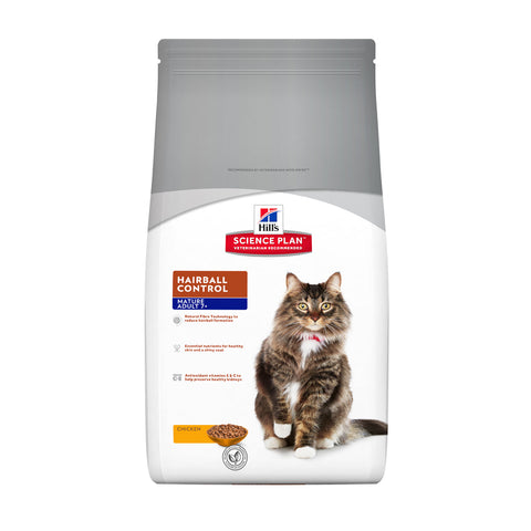 Hill's™ Science Plan™ Hairball Control Mature Adult with Chicken Cat Food
