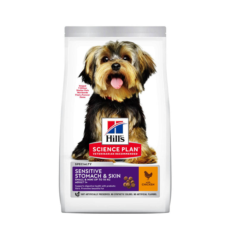 Hill's™ Science Plan™ Sensitive Stomach & Skin Small & Mini with Chicken Dog Food