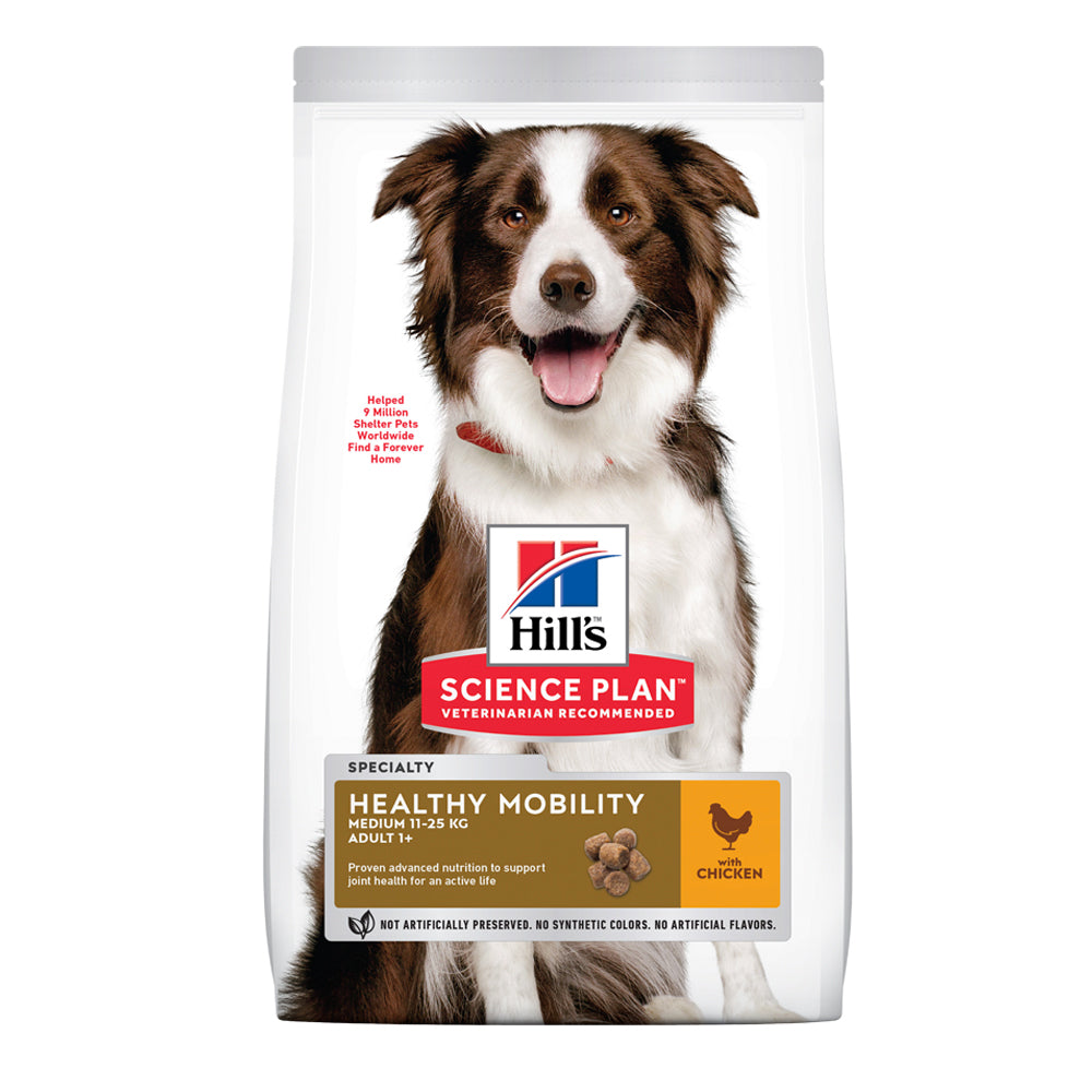 Hill's™ Science Plan™ Healthy Mobility Medium Breed with Chicken Dog Food