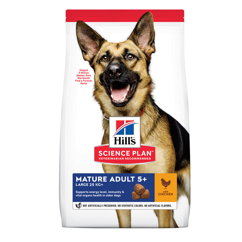 Hill's™ Science Plan™ Mature Adult Large Breed 5+ with Chicken Dog Food
