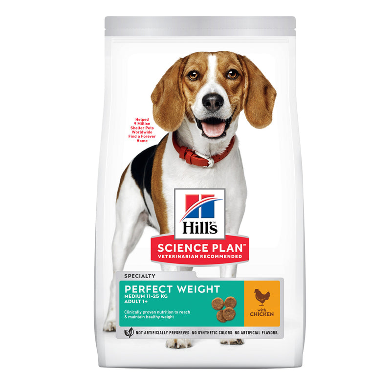 Hill's™ Science Plan™ Perfect Weight Medium Breed with Chicken Dog Food
