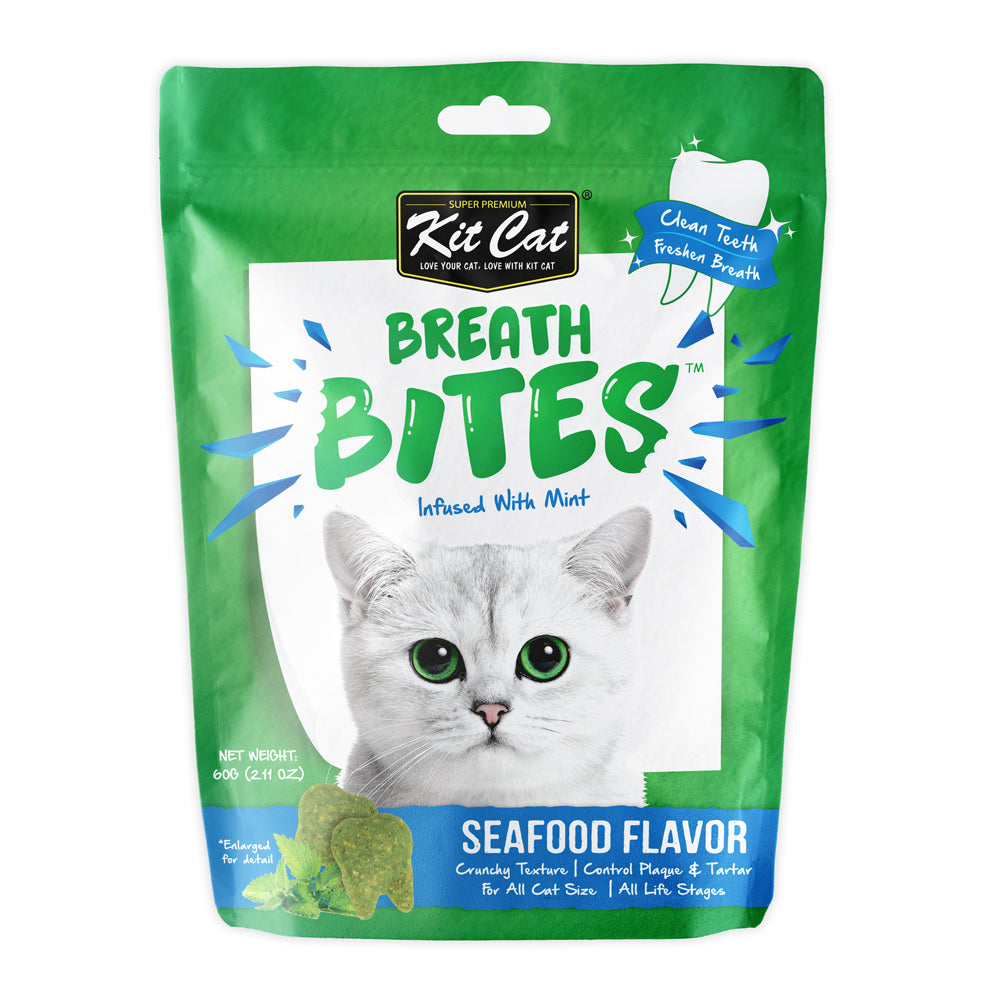 Kit Cat Breath Bites Cat Treats