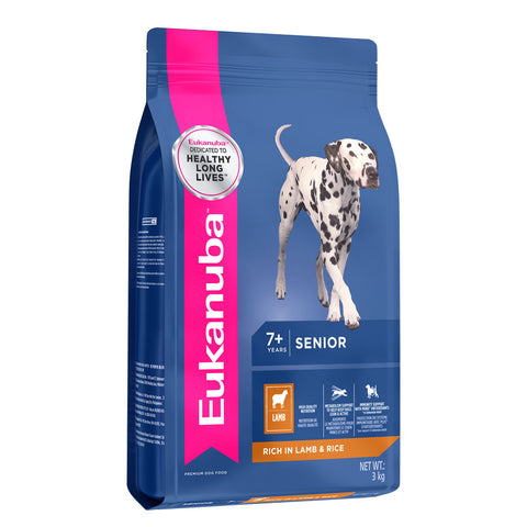 Eukanuba Dog Senior All Breed Lamb & Rice