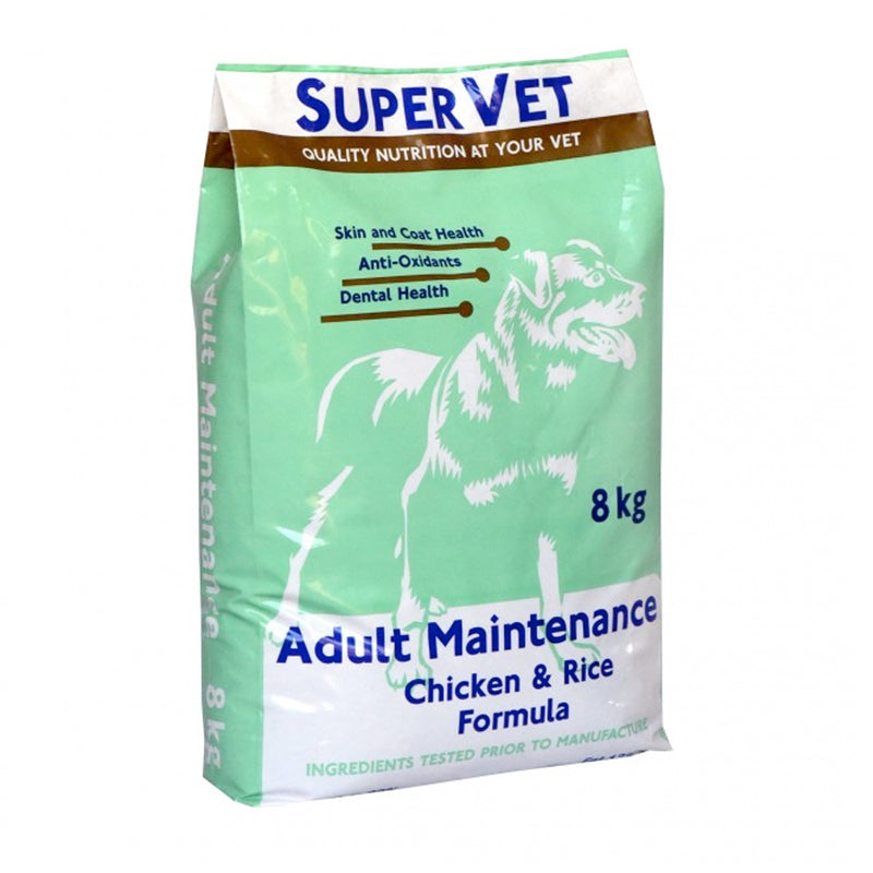 Super Vet Adult Maintenance Chicken and Rice Dog Food