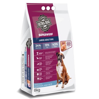 Ultradog Superwoof Large Adult Chicken and Rice