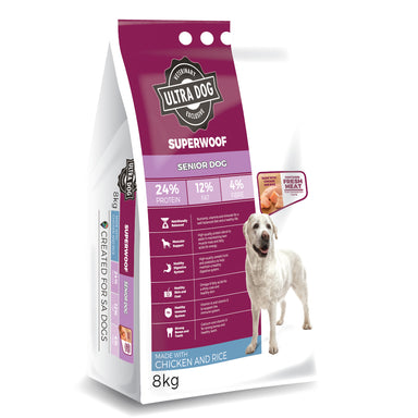 Ultradog Superwoof Senior Adult Chicken and Rice