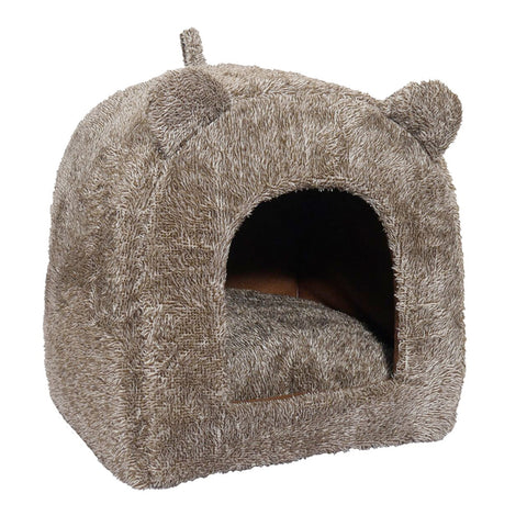 Teddy Bear Cat Bed